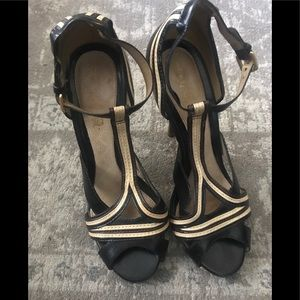 L.A.M.B. Two tone heels